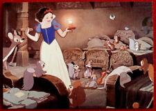 Walt Disney's SNOW WHITE - Card #23 - DOC, HAPPY, SNEEZY, DOPEY, GRUMPY, SLEEPY
