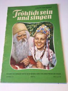 Frösi 1953 - 4 - mit Weihnachtskalender