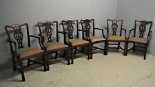 Vintage Carver dining chairs mahogany x six delivery available