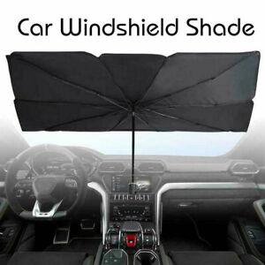 Car Windshield Sun Shade Umbrella Foldable Visor Block UV Cover For Truck Van