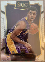 D'Angelo Russell RC 2015/16 Panini Select Concourse #62 L.A. Lakers Rookie Sharp