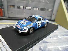 RENAULT Alpine A110 Rallye Africa Safari 1975 #23 Neyret anteslie Trofeu 1:43