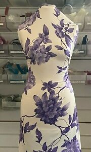 Floral Print~Jersey ITY Thin Stretchy~Premium Quality Animal Print~SAME DAY POST