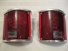 1973-1987 Chevy/GMC C10/K5 BLAZER Sequential LED S/T/T Rapid Fire & Chrome Trim