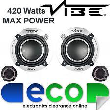"Peugeot 206cc 1998-06 Vibe 4"" 10cm 420 Watts Rear Component Speaker Upgrade Kit"