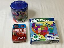 Puzzle Lot Littlest Pet Shop [LPS] - Disney Pixar Cars in a Tin - The 50 States