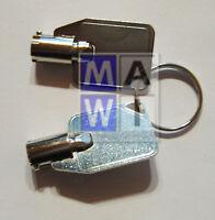 Original 2x QNAP Key / Schlüssel für Einbaurahmen / HDD Tray 45007-002703-00-RS