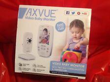 "Axvue (E660) Video Baby Monitor, 2.8"" Screen  - WHITE.  NIB New"