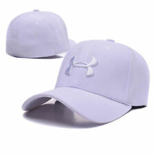 New Under Armour Branded Baseball Cap Men/Women fitted cap Dad Hat/white