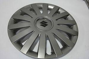 "BRAND NEW Genuine Suzuki Wheel Trims 14"" Anthracite SET OF 4 - ALTO CELERIO G36"