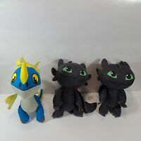 How To Train Your Dragon Movie Lot  Stormfly Night fury Toothless Plush Toys