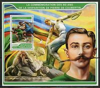 TOGO  2017  80th MEMORIAL OF PIERRE de COURBETIN OLYMPICS FOUNDER S/S  MINT NH