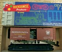 HO scale Roundhouse Pennsylvania box Car Kit  PRR 23608