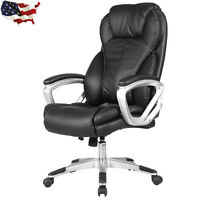 PU Leather Executive Office Chair High Back Ergonomic Computer Desk Task New