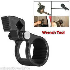 Black 27-42mm Tie Rod Wrench Universal Steering Track Rod Removal Garage Tool