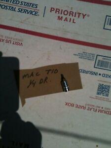 "MAC TOOLS 1/4"" DRIVE t10 torx Socket  SAVE $$ usa made nice"