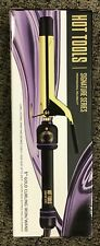 "HOT TOOLS Signature Series Gold Curling Iron Wand 1"" Model HTIR 1575 - NEW"
