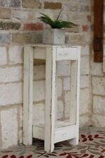 White 10x10 Accent Table