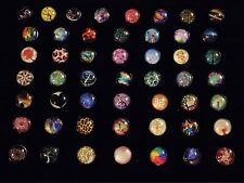 Assorted CLOSEOUT 50CT SNAP BUTTON TREES & more metal snap button charms 18-19MM