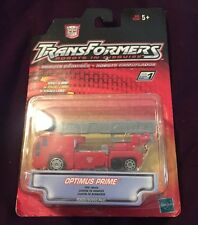 Transformers Optimus Prime Fire Truck 2001 Factory Sealed