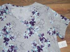 Camisas y tops de mujer Camiseta corta color principal multicolor 100% algodón