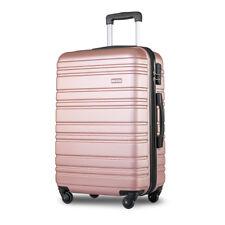 Lightweight Hard Shell 4 Wheel Travel Trolley Suitcase Luggage Set Holdall Case
