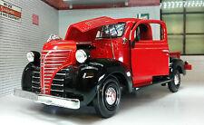 G LGB 1:24 Escala Rojo 1941 PLYMOUTH Camión Camioneta PickUp Modelo Fundido