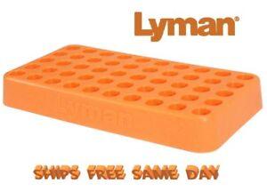 Lyman's .615 Custom Fit Loading Block Holds 50 Shells # 7728095  New!