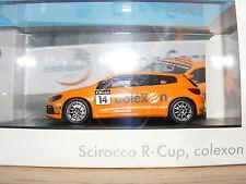 VOLKSWAGEN SCIROCCO R-CUP 'COLEXON' 1:43 NLA 2011 Rare Spark
