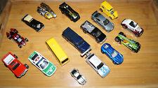 16 Modellautos - Konvolut - Hot Wheels - Autos - LKW - hotwheels