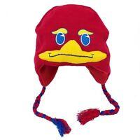 8c3a04cf9050b8 New Kansas Jayhawks Warm Winter Ski Laplander Cap Hat GIFT NWT Mascot KU  NCAA