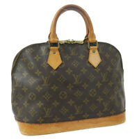 LOUIS VUITTON ALMA HAND BAG PURSE MONOGRAM CANVAS VI1916 M51130 VINTAGE 33430