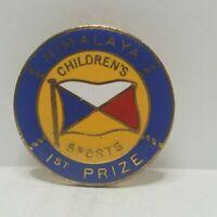 P&O line SS Himalaya Childrens sports 1st Prize enamel Pin badge