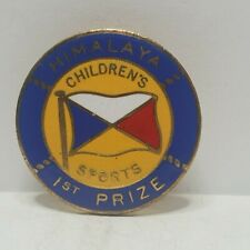 P&O line SS Himalaya Childrens sports 1st Prize enamel Pin badge