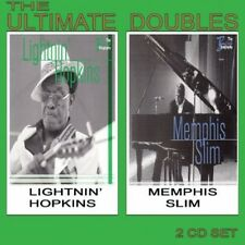 Memphis Slim, Lightnin' Hopkins & Memphis Slim - Ultimate Doubles [New CD]