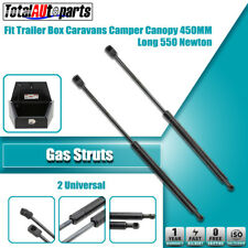 2x 450MM 550N Gas Struts for Caravans Camper Trailers Canopy Toolboxes Cabinets