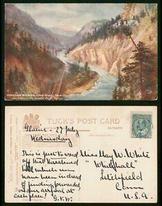 Mayfairstamps Canada PC 1900s Tuck Oilette Rockies Series II Postcard wwp81237