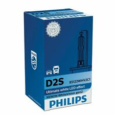 D2S Philips Xenon WhiteVision P32d-2 85122WHV2C1 HID Headlamp 5000K 1 piece