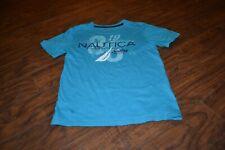 B13- Nautica Short Sleeve 100% Cotton T-Shirt Size Boys L (14-16)
