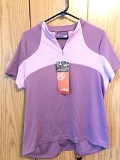 Novara Women's Cycling Shirt Size Xl Multiple Pockets Purple Bike Triathlon Nwt