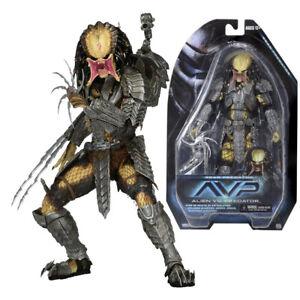 """NECA Scar Predator AVP Alien vs Predators Movie Series 14 7"""" Action Figure NIB"""