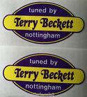 TUNED BY TERRY BECKETT DECALS KH250 RD400 RD350LC GT750 H2 FS1E AP50 GT750 X7