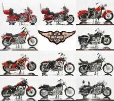Motos miniatures 1:18, Harley-Davidson