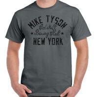 Mike Tyson T-Shirt Mens Catskill Boxing Iron Club Gym Boxer MMA Training Top