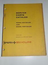 New Holland Service Parts Catalog Model 425 1425 Baler Issue 6 - 81