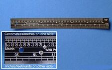 RB Productions TS48 x 1/48 Scale Ruler, Stainless Steel