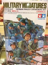 KIT MAQUETA GERMAN PANZER GRENADIERS SET 1:35 TAMIYA 35061