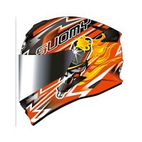 Casco integrale moto Suomy Stellar Boost Orange XS S M L XL helmet casque