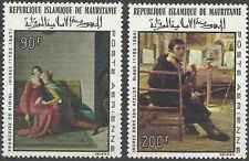 Timbres Arts Tableaux Mauritanie PA70/1 ** lot 14425