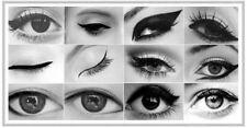 Productos de maquillaje de ojos negros sin marca de lápiz